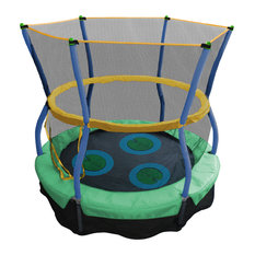 """Skywalker Trampolines - Skywalker Trampolines Lily Pad Bouncer With Enclosure, 40"""" - Trampolines"""