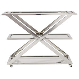 Contemporary Bar Carts by Zin Home