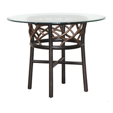 Panama Jack Trinidad Stackable Dining Base with Glass