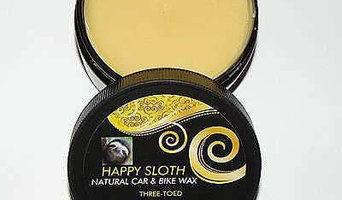 Happy Sloth Three Toed Natural Car & Bike Wax