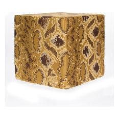 Reptile Cube, Gold