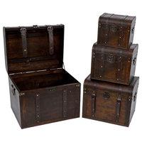 Decorative Trunks, 4-Piece Set