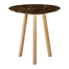 Ninna Emperador Marble Coffee Table, Natural
