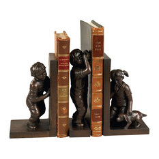 Hide and Seek Small Bookends, 3 Piece Set