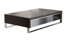 888 Modern Style Coffee Table in Wenge Finish