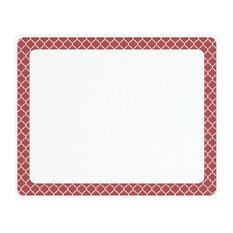 "Corelle Crimson Trellis Counter Saver Tempered Glass Cutting Board, 15""x12"""