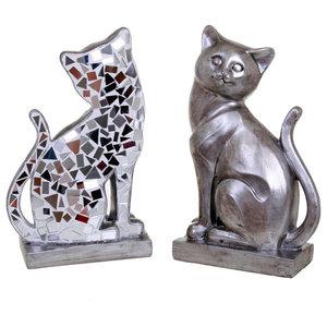 Fusion Sitting Cat Sculpture