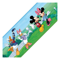 Mickey Mouse Friends Minnie Self Stick Accent Wall Border