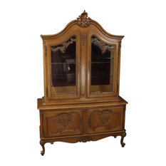 Consigned China Cabinet Louis XV Rococo Vintage French