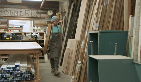 Houzz TV: Working With Reclaimed Wood