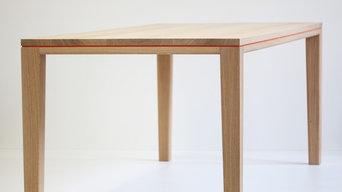 Tisch R10 Eiche Massivholz weiß geölt