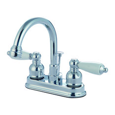 Hardware House Two Handle Laundry/Bar Faucet, Chrome