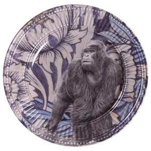 Jungle Gorilla Side Plates, Set of 2