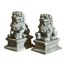 Small Temple Foo Dog Right Statuary