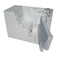 29 x 53 Right Drain Whirlpool & Air Wheelchair Accessible Walk-In Bathtub