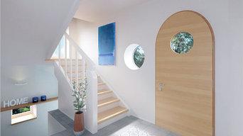 Neugestaltung Treppenhaus