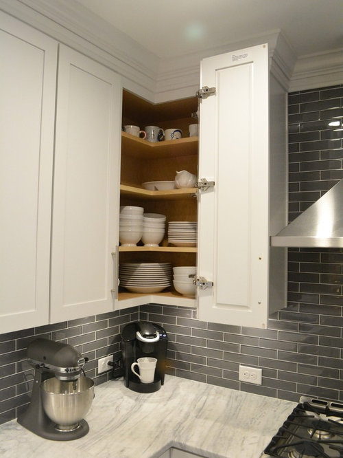 Easy reach cabinet design ideas remodel pictures houzz