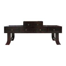 Golden Lotus Antiques   Chinese Ming Style Prayer Altar Table TV Stand    Entertainment Centers And
