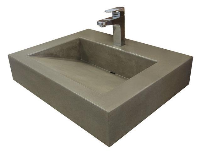 Concrete Bathroom Sinks Pietra Danzare 3 Concrete Bathroom Sink