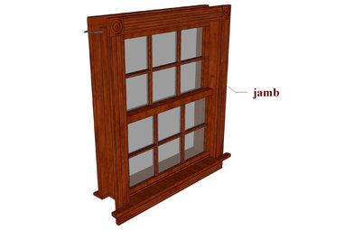 Window jamb extensions for Window jamb design