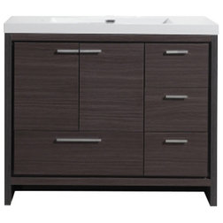 Transitional Bathroom Vanities And Sink Consoles by Bathroom Vanity Wholesale INC.