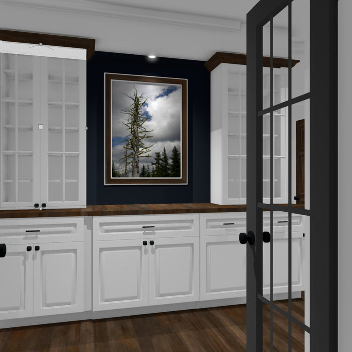 Conceptual Butlers Pantry Design