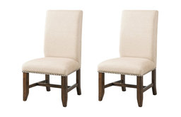 Francis Fabric Back Side Chair Set