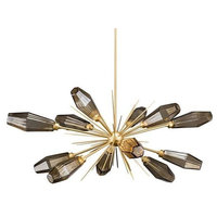 Modern LED Sputnik Chandelier By Morsale, Diameter 40""