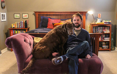 My Houzz: Travel Treasures Personalize a Denver Comedian's Home