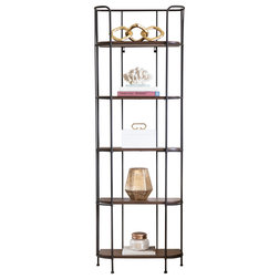 Industrial Display And Wall Shelves  by Abbyson Living