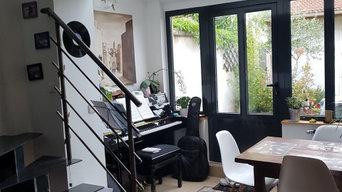 Projet complet salon/ séjour
