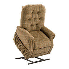 Med Lift Wide Two-Way Reclining Lift Chair, Bromley , Havana