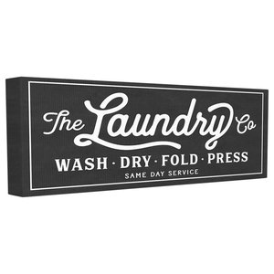 The Laundry Co Canvas Wall Art