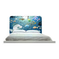 """ZoZulu - """"Underwater Fish"""" Headboard - Headboards"""