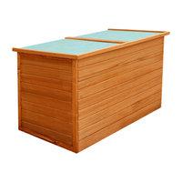 vidaXL Garden Storage Box Wood