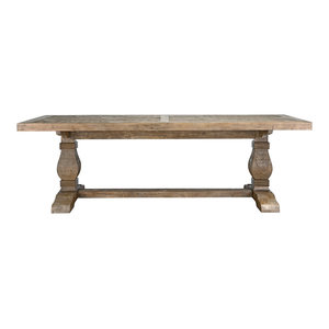 Quincy Reclaimed Pine Dining Table by Kosas Home, 94""