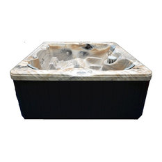 Home And Garden Spas   Home And Garden 5 Person 51 Jet Spa With Stainless  Jets