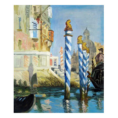 Manet, The Grand Canal, Venice, Unframed loose canvas
