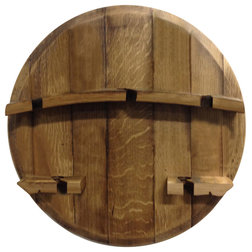 Traditional Wine Racks by Green Planet Rain Barrels-Staving the Planet