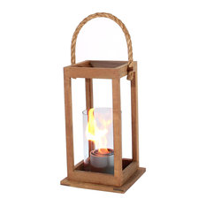 Cape Cod Lantern, Teak Wood, Small