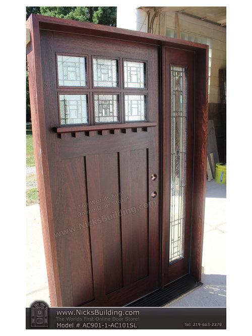 sc 1 st  Houzz & Craftsman Shaker Arts u0026 Crafts DOOR AC901
