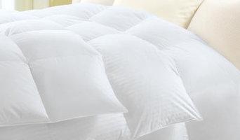 Damask Stripe Down Comforter