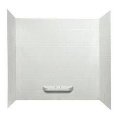 Kayla Acrylic Bathtub Shower Wall