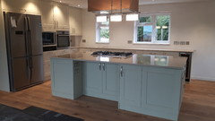 Question Re Kitchen From Howdens Tewkesbury Framed Antique White