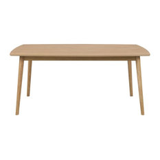 Nagane Oak Dining Table, 1.8 m