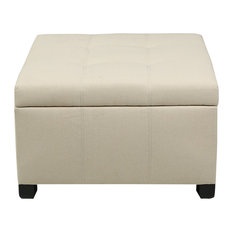 Swell 30 Inch Wide Footstools Ottomans Houzz Lamtechconsult Wood Chair Design Ideas Lamtechconsultcom