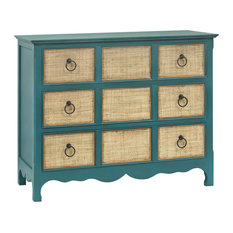 Stein World Transitional Barefoot Chest In Blue Finish 17295