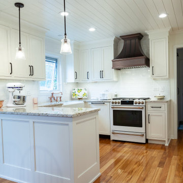 Farmhouse Kitchen and Laundry Room Remodel in Naperville, Illinois
