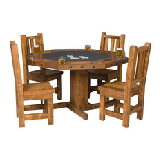 Convertible Poker Dining Table With Chairs