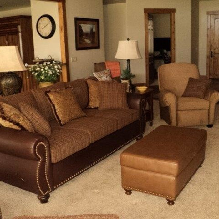 Living Room Reupholstery, Sunriver